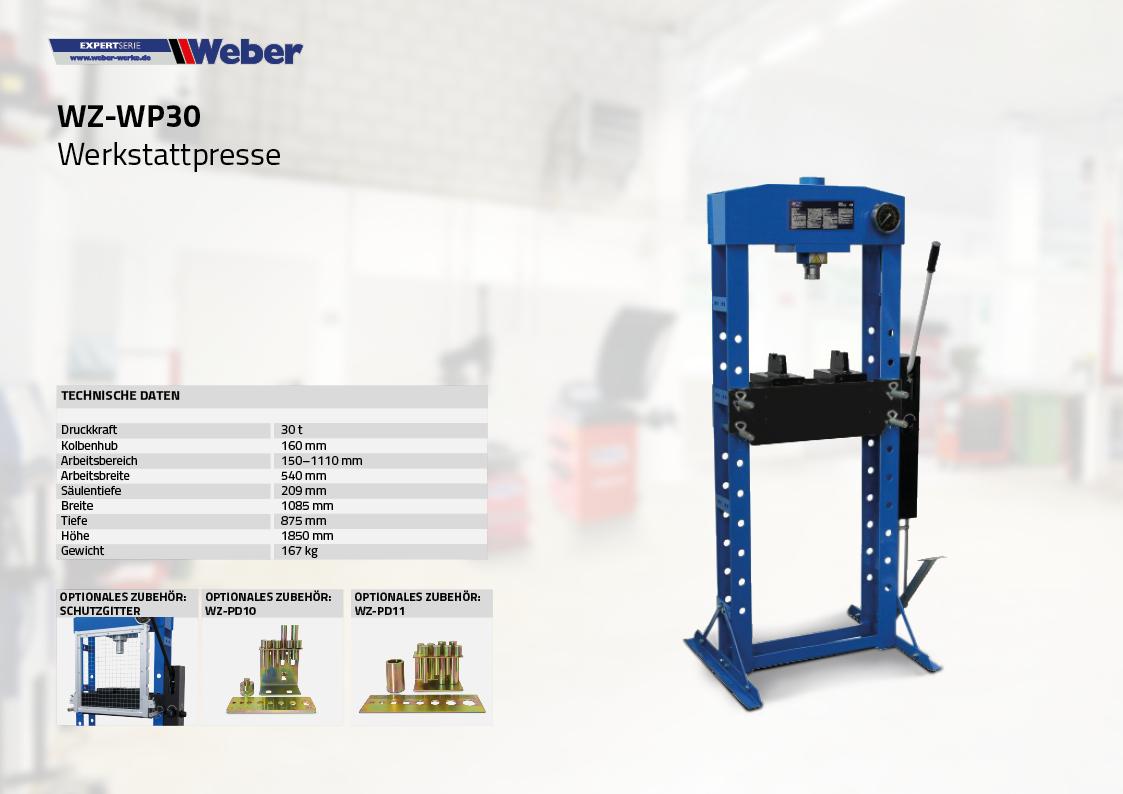 Werkstattpresse WZ-WP30