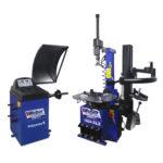 PKW Rad Wuchtmaschine und Montiermaschine Weber Expert Serie Werkstattpaket-L