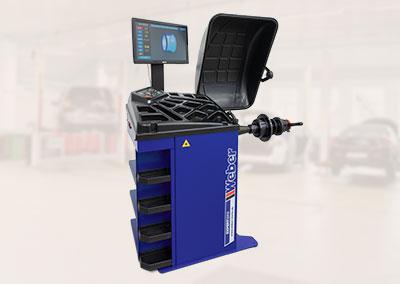 PKW Radwuchtmaschine Weber Expert Serie Präzision-3D Sonar