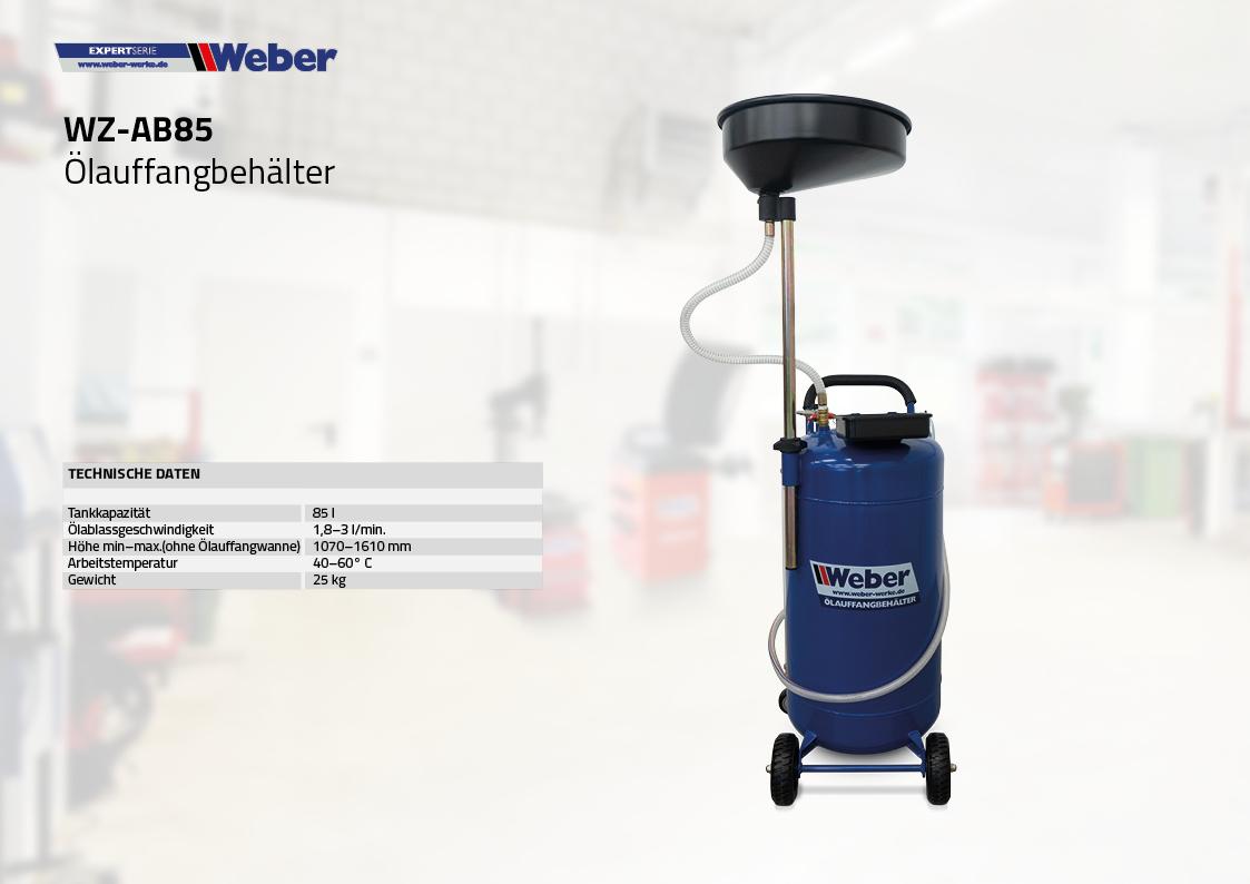 Weber Ölauffangbehälter 85 l
